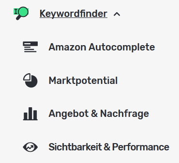 Buuk Keywords finden mit Software